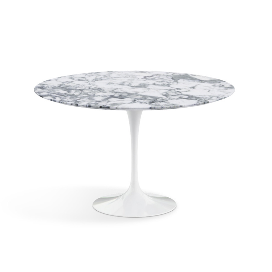 Le meilleur du design table ronde saarinen marbre knoll - Table ronde en marbre ...