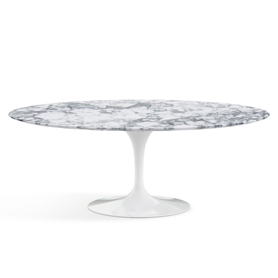 Le Meilleur Du Design Table Ovale Saarinen Marbre Knoll Eero Saarinen