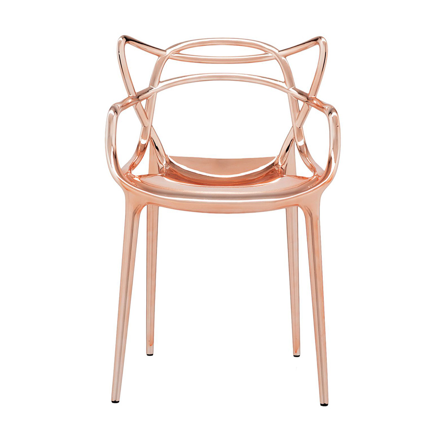 Le Meilleur Du Design Chaise Masters Metallisee Kartell Philippe